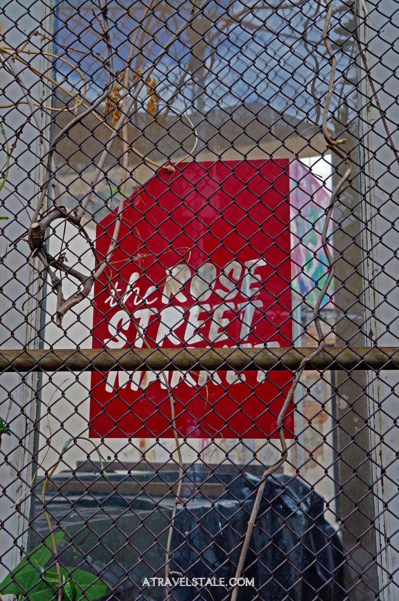 rose st. market sign