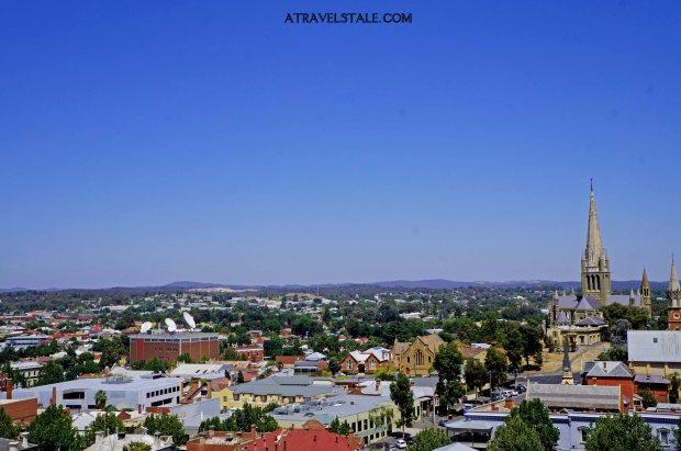 bendigo view from tower