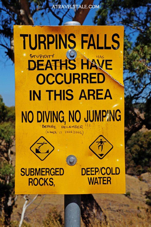 turpins falls sign