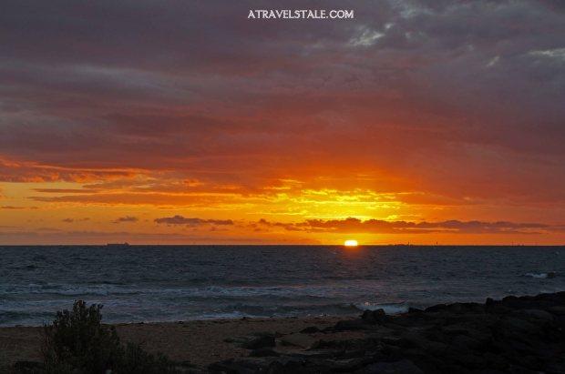 tramonto st kilda