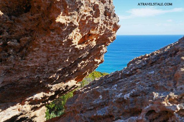 cape otway cliffs